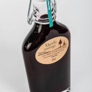 liqueur de myrtille sauvage