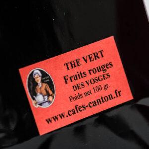 thé vert fruits rouges artisanal