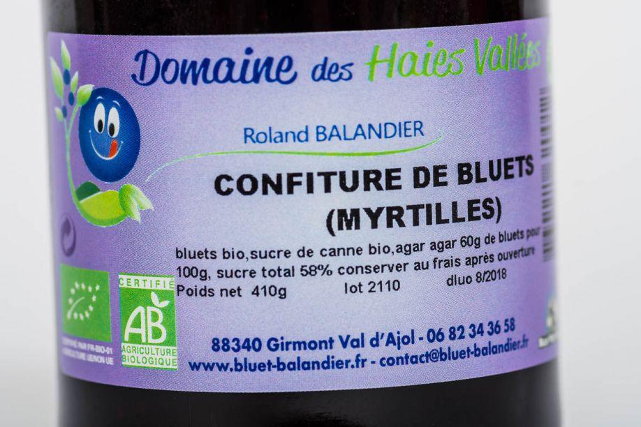 Vente de bluets à Remiremont