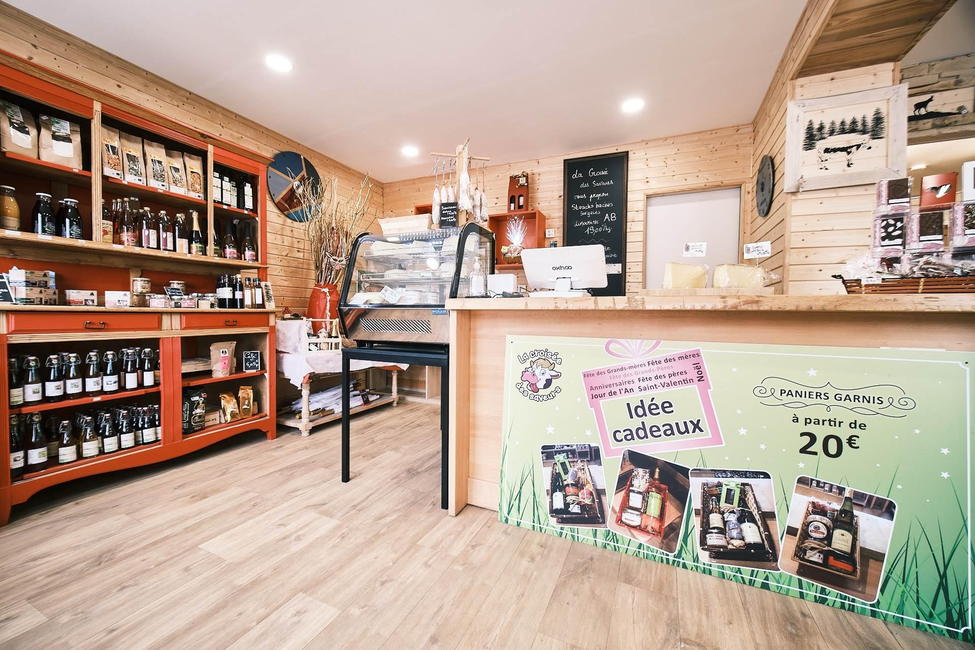 magasin de produits locaux à Le Syndicat